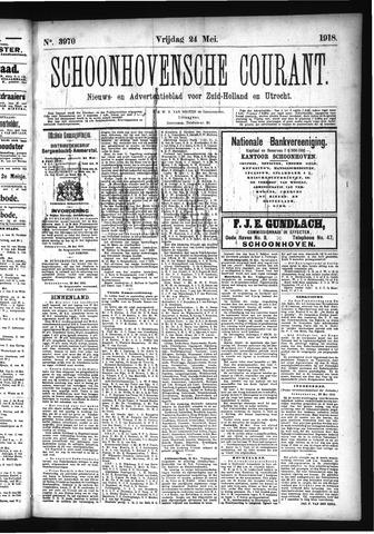Schoonhovensche Courant 1918-05-24