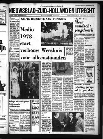 Schoonhovensche Courant 1977-10-28