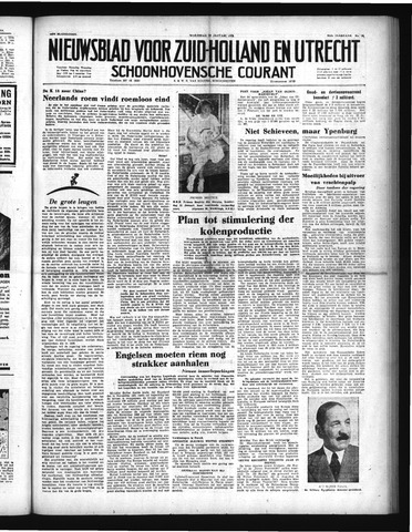 Schoonhovensche Courant 1952-01-30