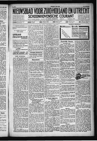 Schoonhovensche Courant 1930-06-20