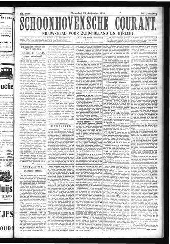 Schoonhovensche Courant 1924-08-25