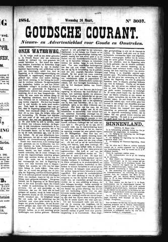 Goudsche Courant 1884-03-26