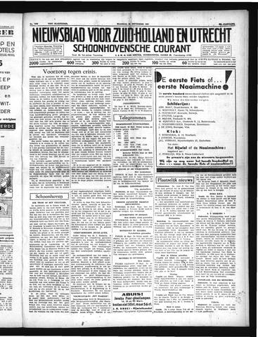 Schoonhovensche Courant 1937-09-20