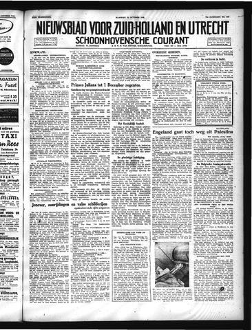 Schoonhovensche Courant 1947-10-13