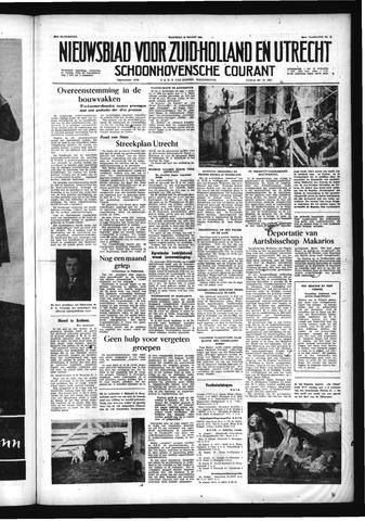 Schoonhovensche Courant 1956-03-12