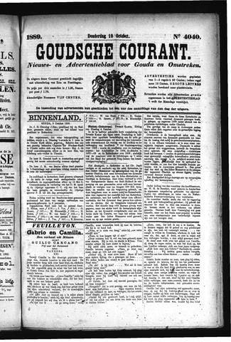 Goudsche Courant 1889-10-10