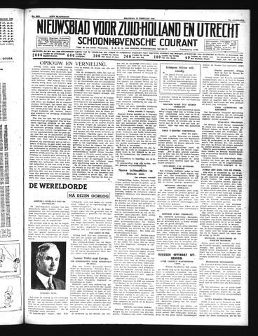 Schoonhovensche Courant 1940-02-12