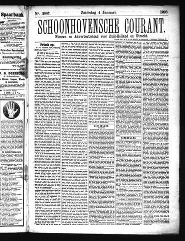Schoonhovensche Courant 1908-01-04