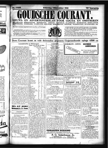 Goudsche Courant 1931-11-07