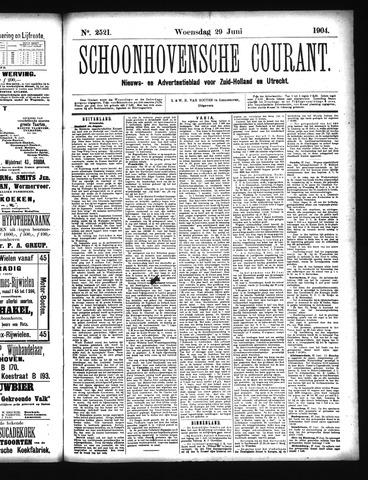 Schoonhovensche Courant 1904-06-29