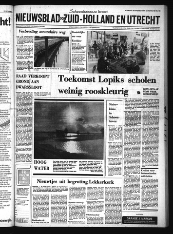 Schoonhovensche Courant 1977-11-16