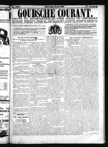 Goudsche Courant 1933-07-17