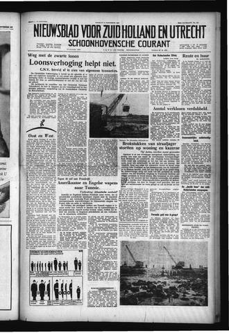 Schoonhovensche Courant 1957-11-15