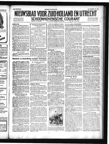 Schoonhovensche Courant 1947-11-03
