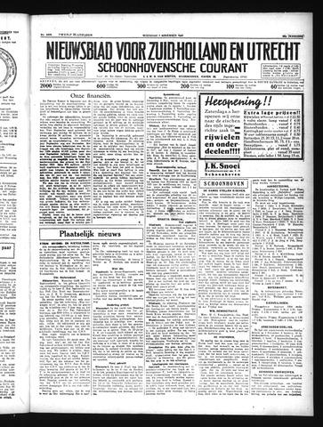 Schoonhovensche Courant 1934-11-07