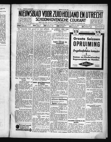 Schoonhovensche Courant 1938-07-15