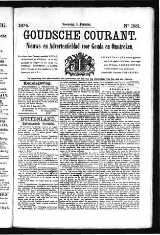 Goudsche Courant 1874-08-05