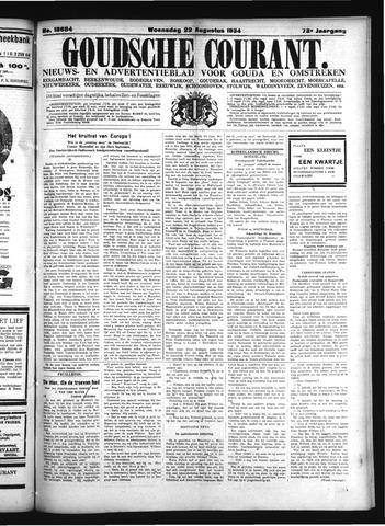 Goudsche Courant 1934-08-22