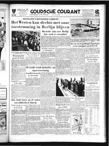 Goudsche Courant 1958-11-25