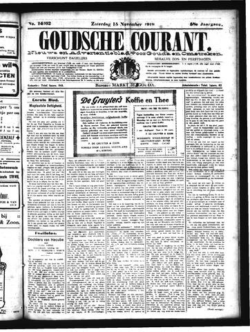 Goudsche Courant 1919-11-15