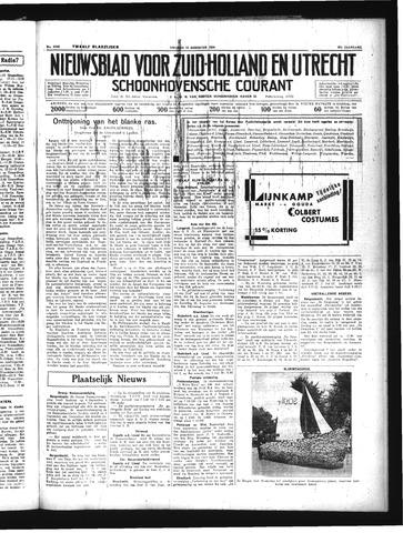 Schoonhovensche Courant 1934-08-10