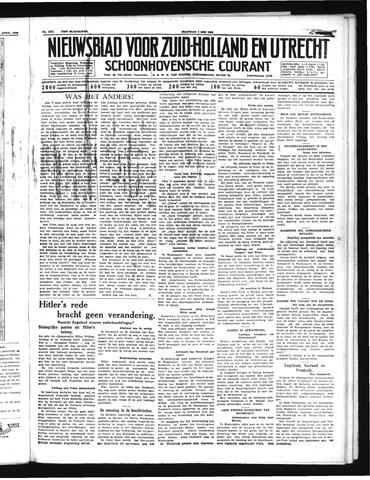 Schoonhovensche Courant 1939-05-01