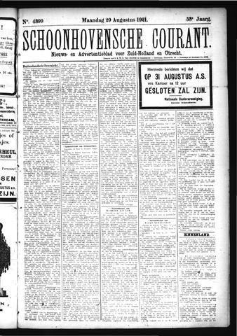 Schoonhovensche Courant 1921-08-29