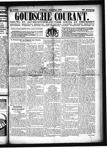 Goudsche Courant 1930-08-01