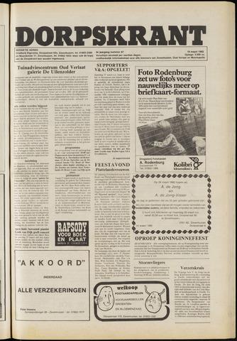 Dorpskrant 1982-03-19