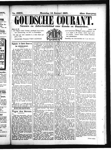Goudsche Courant 1907-01-14