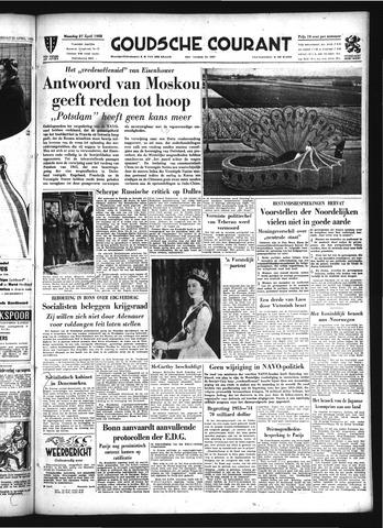 Goudsche Courant 1953-04-27