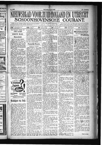 Schoonhovensche Courant 1929-04-03
