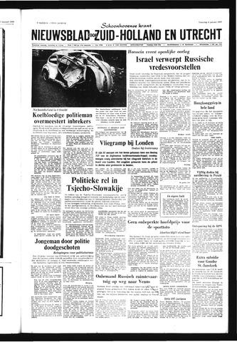 Schoonhovensche Courant 1969-01-06