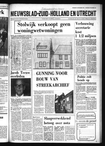 Schoonhovensche Courant 1975-11-19