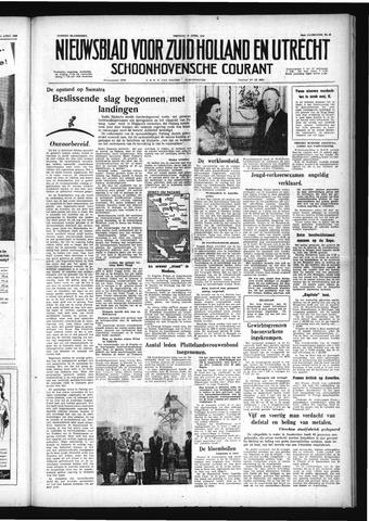 Schoonhovensche Courant 1958-04-18