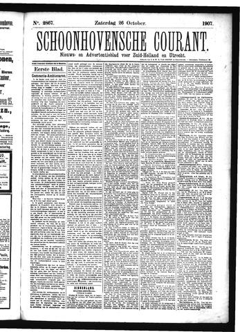Schoonhovensche Courant 1907-10-26