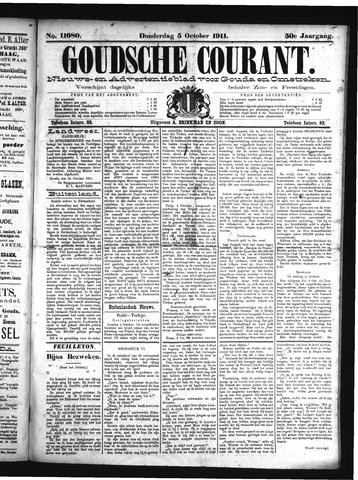 Goudsche Courant 1911-10-05