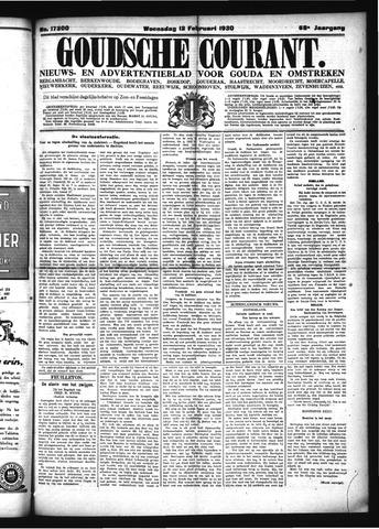 Goudsche Courant 1930-02-12