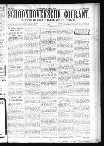 Schoonhovensche Courant 1925-03-11