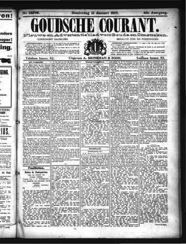 Goudsche Courant 1917-01-11