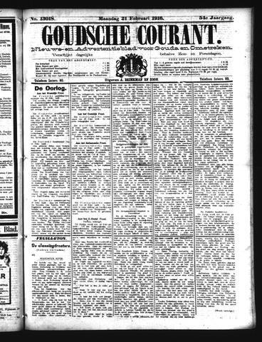 Goudsche Courant 1916-02-21