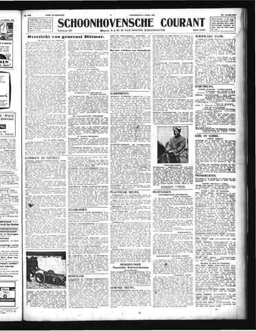 Schoonhovensche Courant 1944-04-06