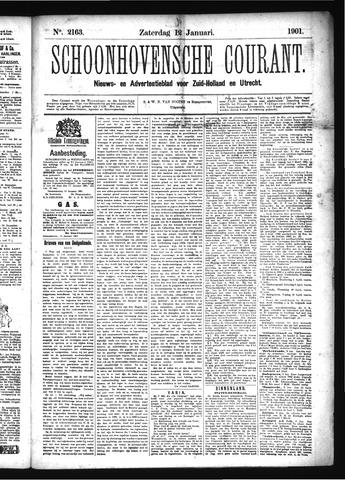 Schoonhovensche Courant 1901-01-12