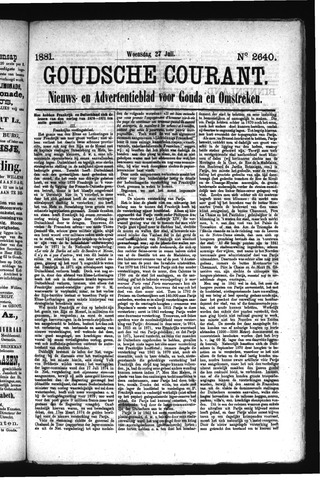 Goudsche Courant 1881-07-27
