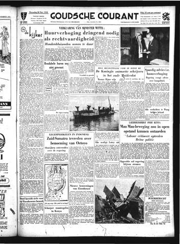 Goudsche Courant 1952-11-26