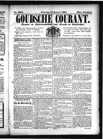 Goudsche Courant 1894-01-13