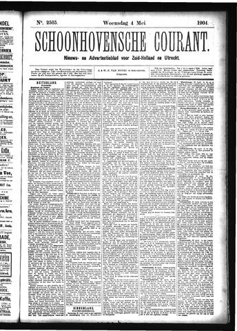 Schoonhovensche Courant 1904-05-04