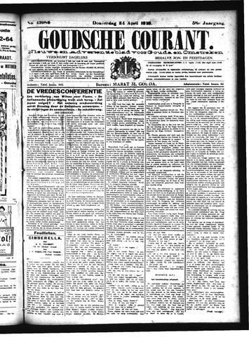 Goudsche Courant 1919-04-24