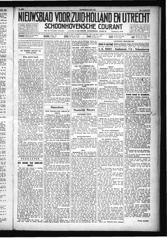 Schoonhovensche Courant 1931-06-22