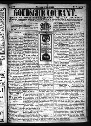 Goudsche Courant 1922-04-24